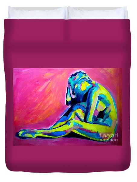 Pensively Duvet Cover