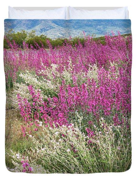 Penstemon At Black Hills Duvet Cover