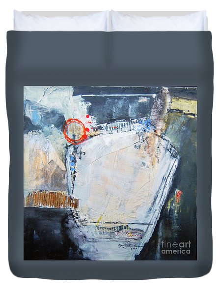 Pentagraphic Duvet Cover by Ron Stephens
