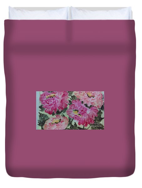 Peoney20161229_4 Duvet Cover