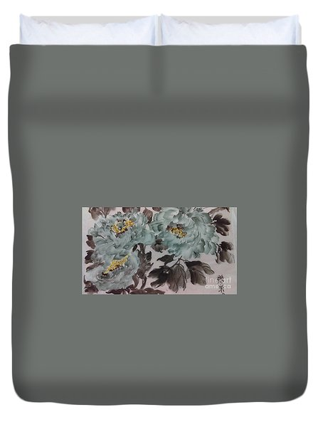 Peoney20161229_5 Duvet Cover
