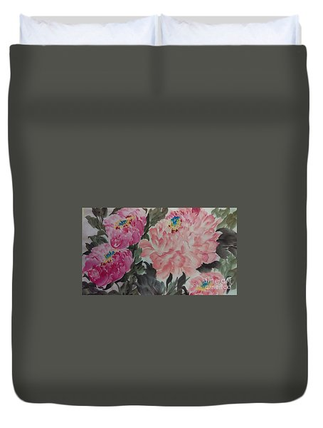 Peoney20161230_622 Duvet Cover