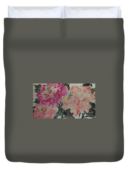 Peoney20161230_6246 Duvet Cover