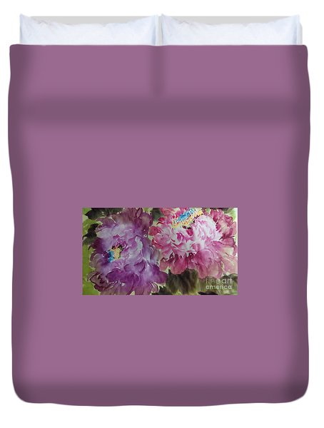 Peoney20170213_1 Duvet Cover