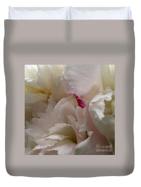 Peonies 2015 Duvet Cover by Patricia E Sundik
