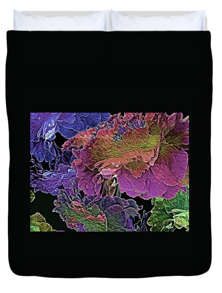 Peony Profusion 104 Duvet Cover