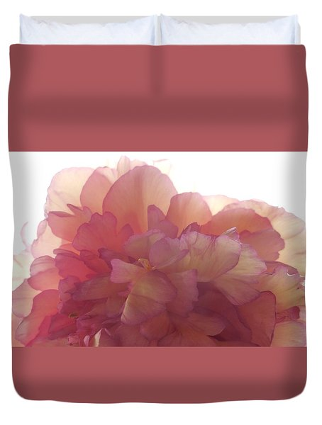 Peony Unsaturated Duvet Cover