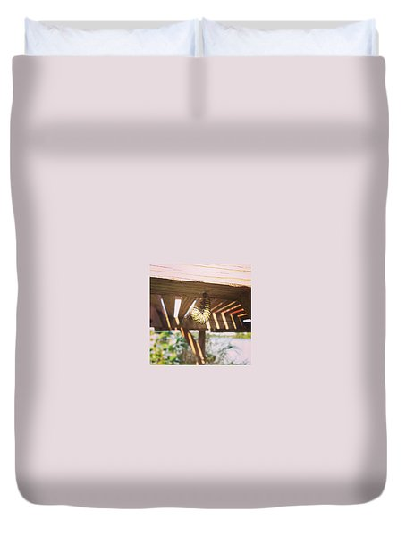 Peparing For Transformation Duvet Cover