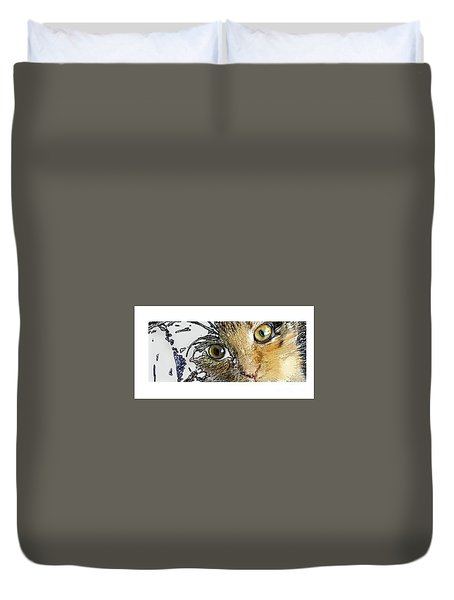 Pepper Eyes Duvet Cover
