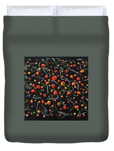 Pepper Pattern Duvet Cover