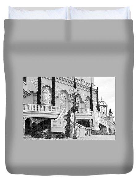 Peppermill Casino Garden Duvet Cover