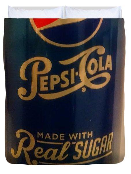 Pepsi Cola Duvet Cover