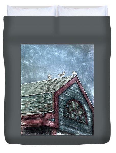 Perched Duvet Cover