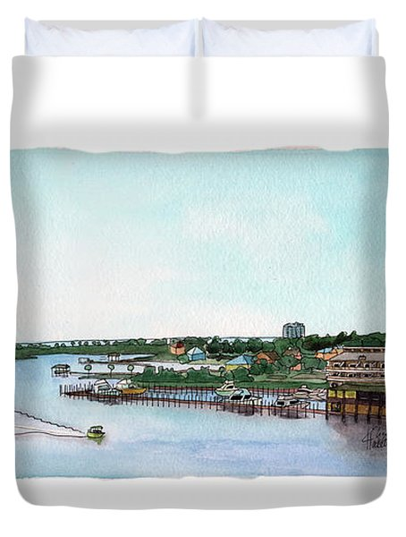 Perdido Key Bay Duvet Cover