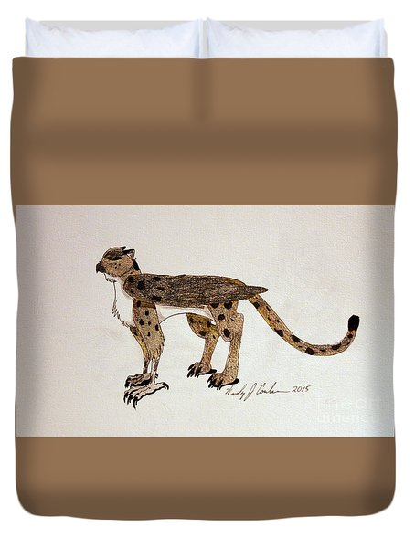 Perechee Duvet Cover by Wendy Coulson