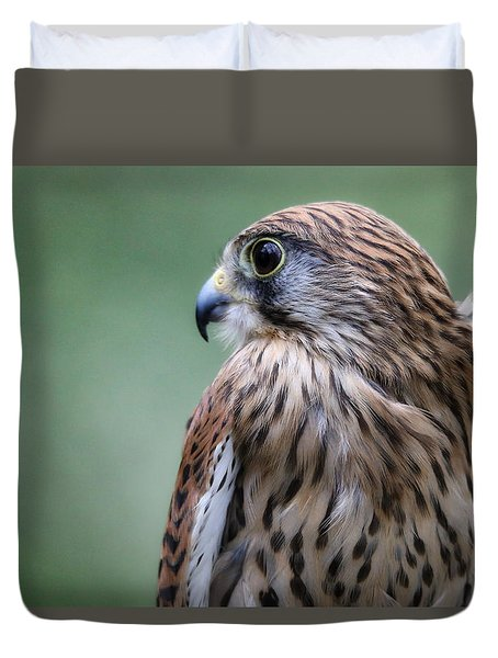 European Kestrel Duvet Cover