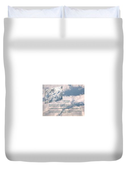 Perfect Clouds Duvet Cover