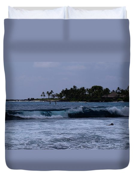 Perfect Day Duvet Cover by Pamela Walton