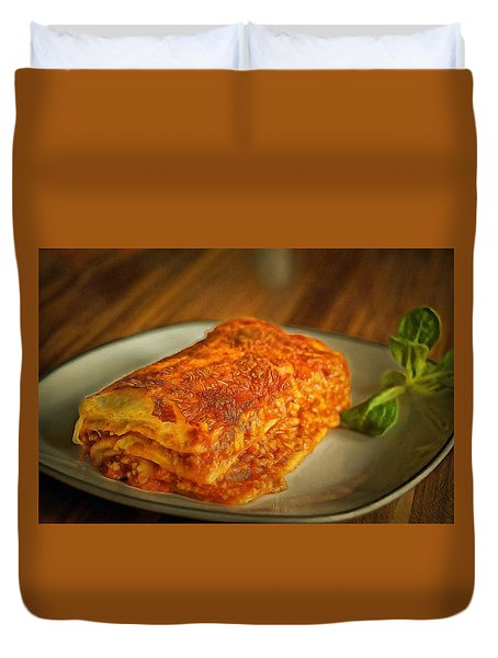 Perfect Food Duvet Cover