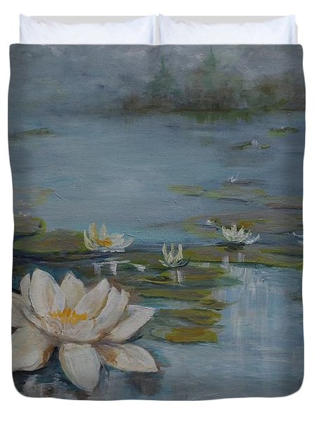 Perfect Lotus - Lmj Duvet Cover