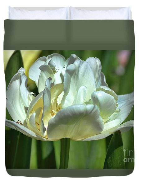 Perfect Love Duvet Cover by Diana Mary Sharpton