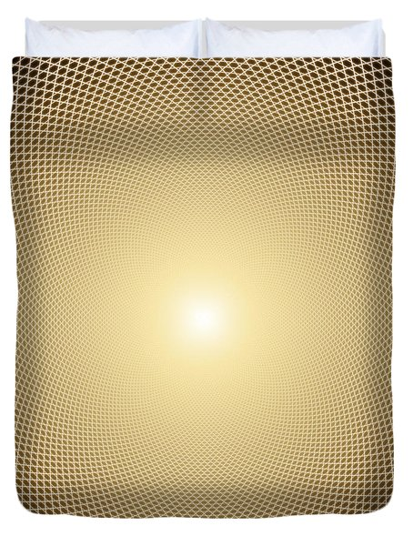 Perfect Oneness Duvet Cover by Robby Donaghey