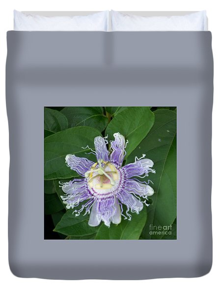 Perfect Passion Flower Duvet Cover