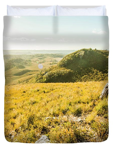 Picture Perfect Pastures Duvet Cover
