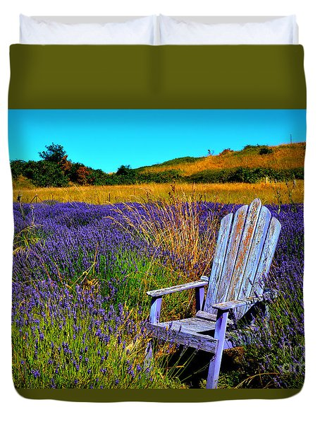 Duvet Cover featuring the photograph Perfect Purple  by Tanya  Searcy