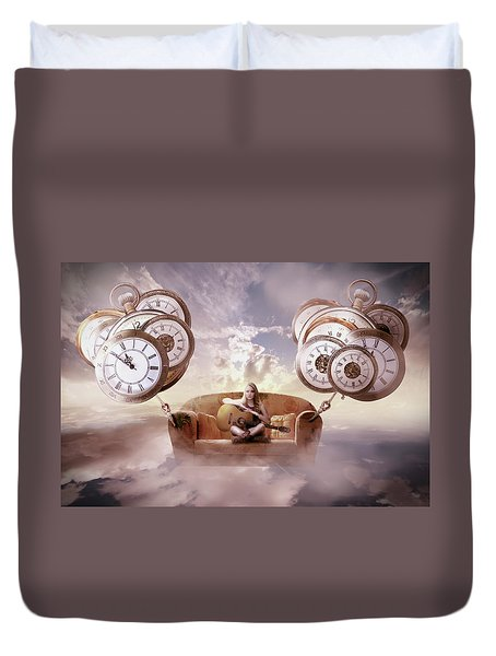 Perfect Timing  Duvet Cover by Nathan Wright