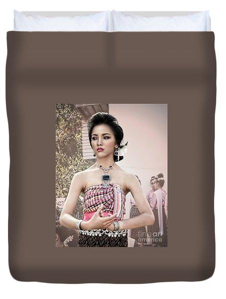 Performance Of Beauty Duvet Cover