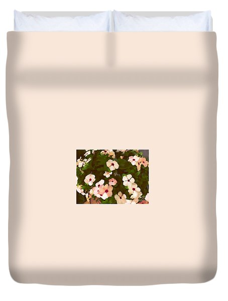 Periwinkle Duvet Cover by David Blank