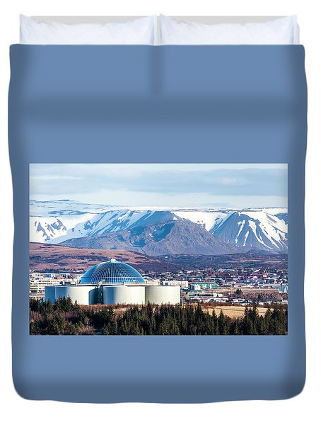 Perlan Duvet Cover by Wade Courtney