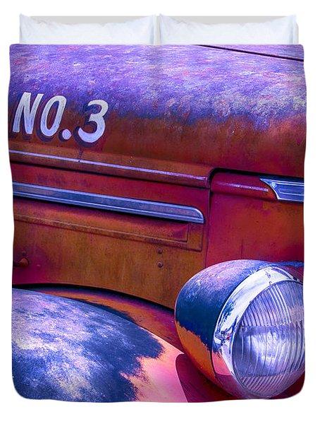 Permit No 3 Duvet Cover