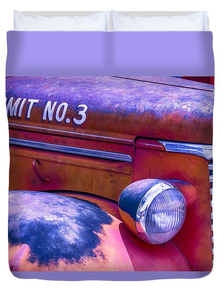 Permit No 3 Duvet Cover by Garry Gay