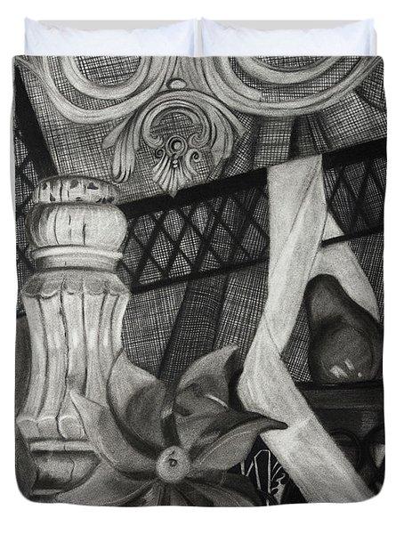 Perpeptual Pinwheel Duvet Cover
