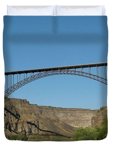 Perrine Bridge Duvet Cover