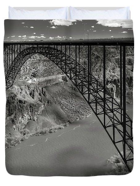 Perrine Bridge, Twin Falls, Idaho Duvet Cover