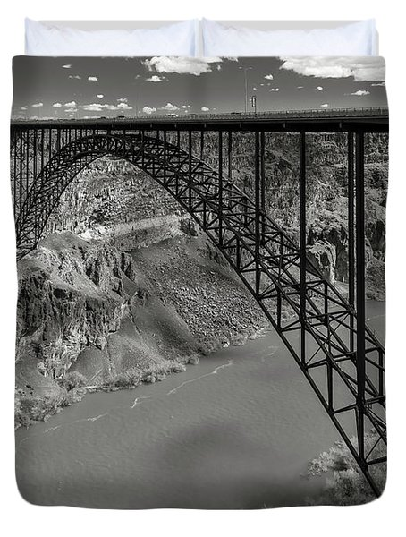 Perrine Bridge, Twin Falls, Idaho Duvet Cover