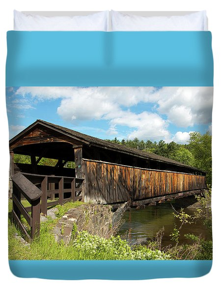 Perrine's Bridge In May Duvet Cover