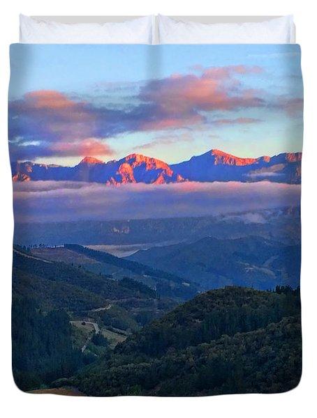 Perrozo Morning Duvet Cover