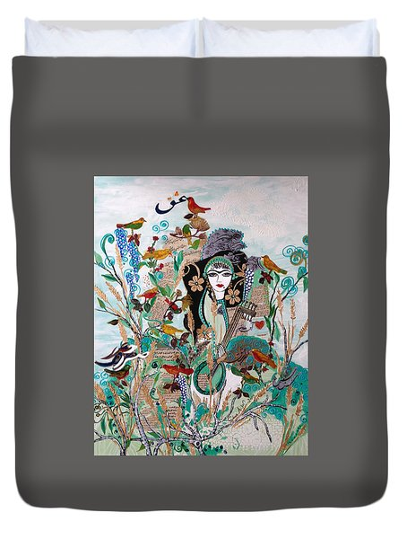 Persian Painting # 2 Duvet Cover
