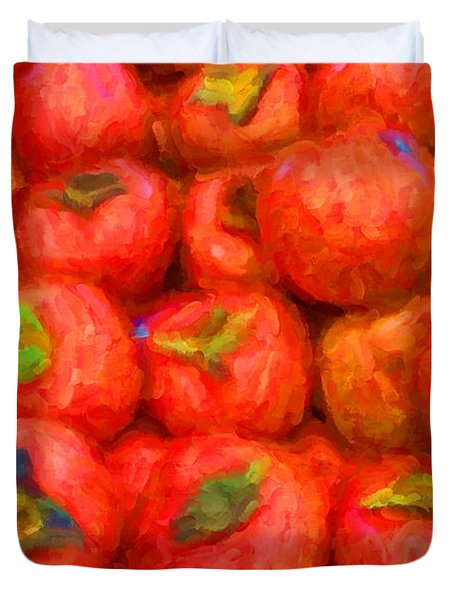 Persimmons Duvet Cover