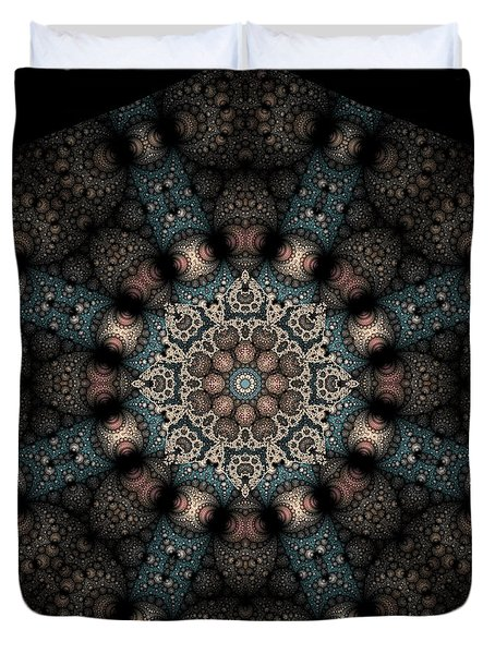 Persnickety Palpitations Of Magnificent Malformations Duvet Cover