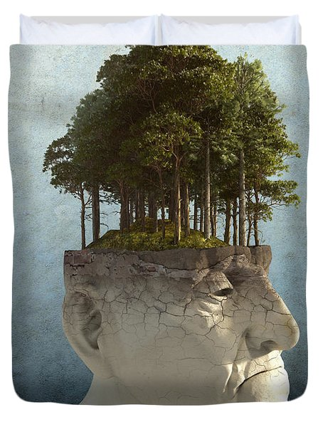 Personal Growth Duvet Cover