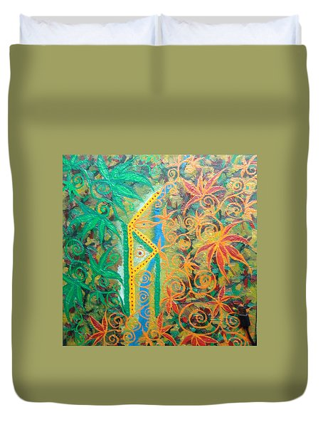 Personal Power Duvet Cover