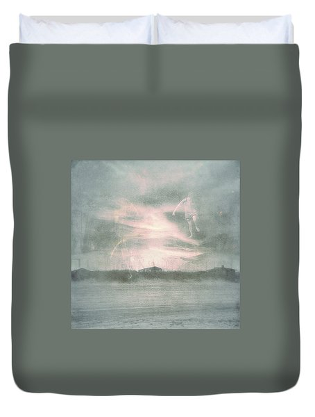 Ghosts And Shadows Vii - Personal Rapture  Duvet Cover