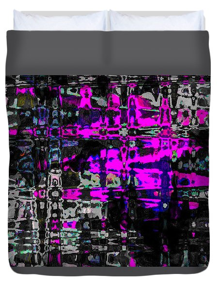 Duvet Cover featuring the photograph Persons,places,things 2 by Penny Lisowski