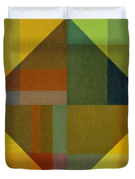 Perspective In Color Collage 8 Duvet Cover