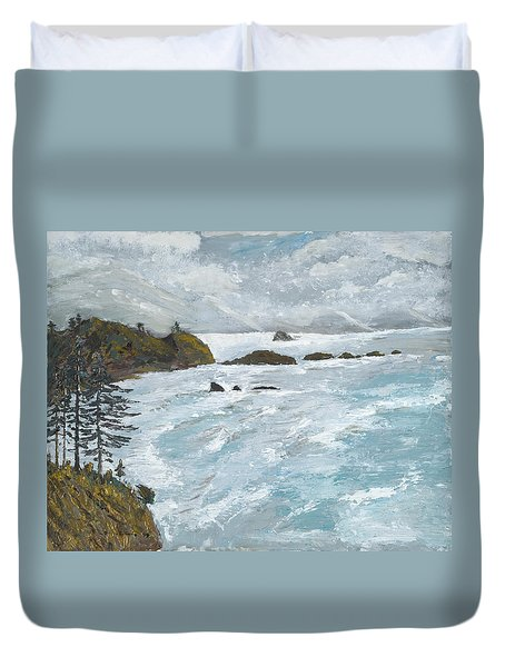 Perspective Duvet Cover